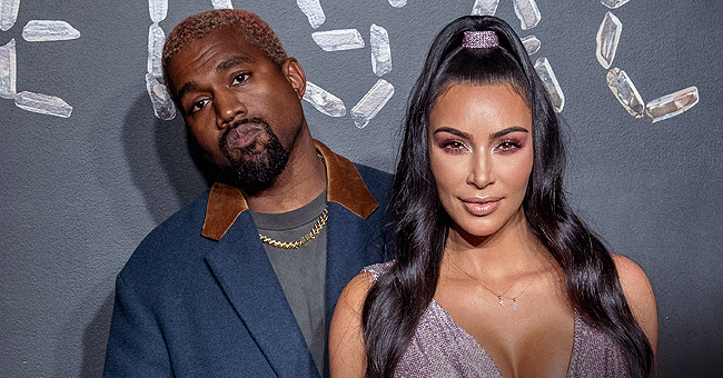 Kim K. & Kanye West Are Hands-On with 4th Child Despite Having Help