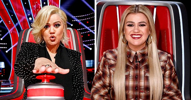 Kelly Clarkson Kicks off New Season of 'The Voice' with Sporting New Layered Bob Haircut