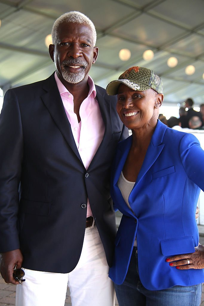 Dan Gasby and B. Smith attend the 41st Annual Hampton Classic Horse Show Grand Prix on September 4, 2016 | Photo: Getty Images