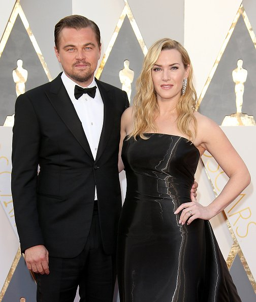 Leonardo DiCaprio and Kate Winslet at Hollywood & Highland Center on February 28, 2016 in Hollywood, California. | Photo: Getty Images