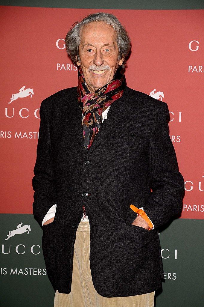 Jean Rochefort en décembre 2012 à Paris. Photo : Getty Images