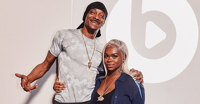 Snoop Dogg's Daughter Cori Broadus Poses in White Hoodie and Cute Pink Jacket in New Pic
