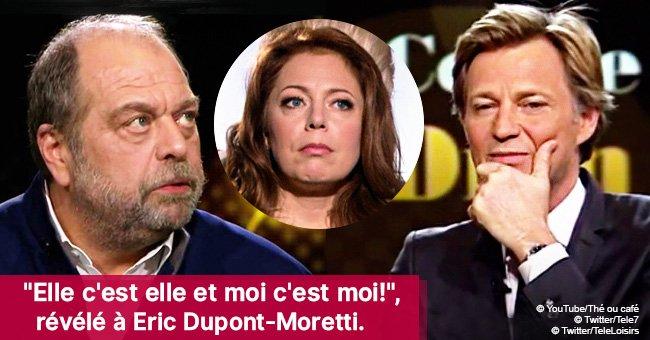 L'énorme erreur de Laurent Delahousse en demandant à Eric Dupont-Moretti sa relation secrète avec Isabelle