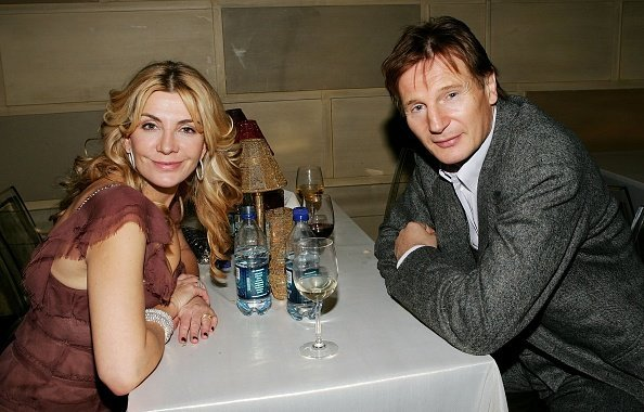 Liam Neeson and Natasha Richardson at Gotham Hall December, 04 2006 in New York City | Photo: Getty Images