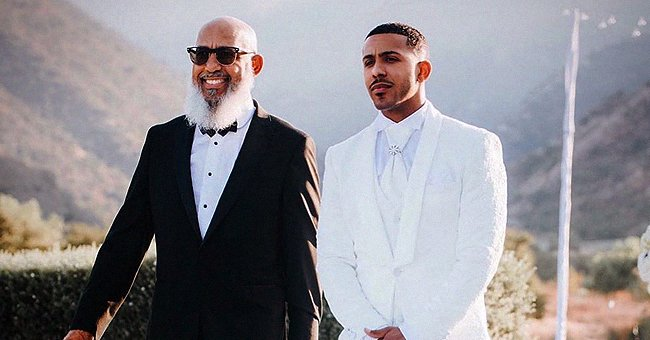 Marques Houston Proudly Shares a Photo of His Dad Walking with Him on His Wedding Day