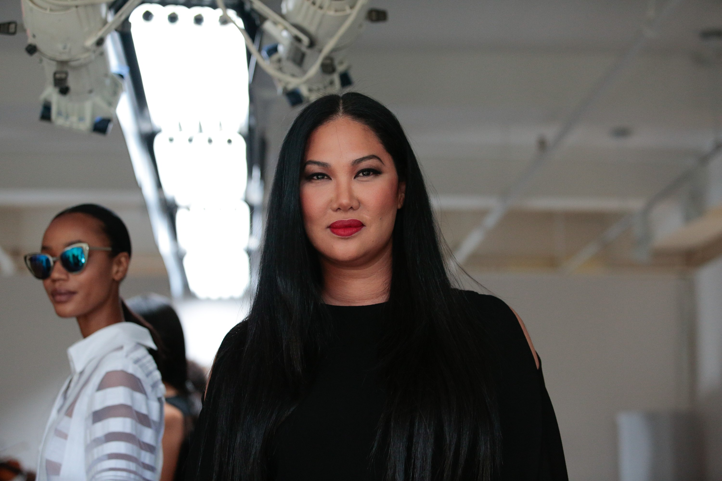 Kimora Lee Simmons at New York Fashion Week at The Gallery, Skylight at Clarkson Sq on September 14, 2016 in New York City.   Source: Getty Images