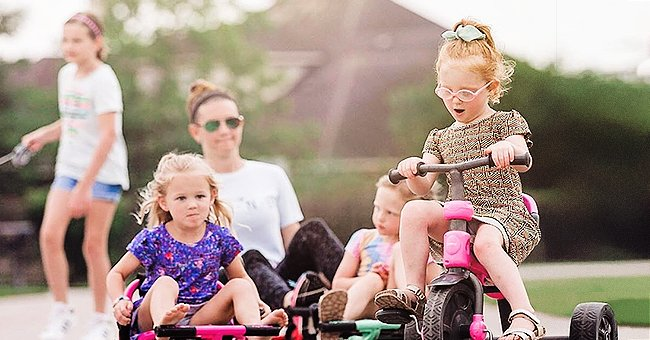 'OutDaughtered' Star Adam Busby Replies after Facing Backlash for Daughters Riding without Helmets