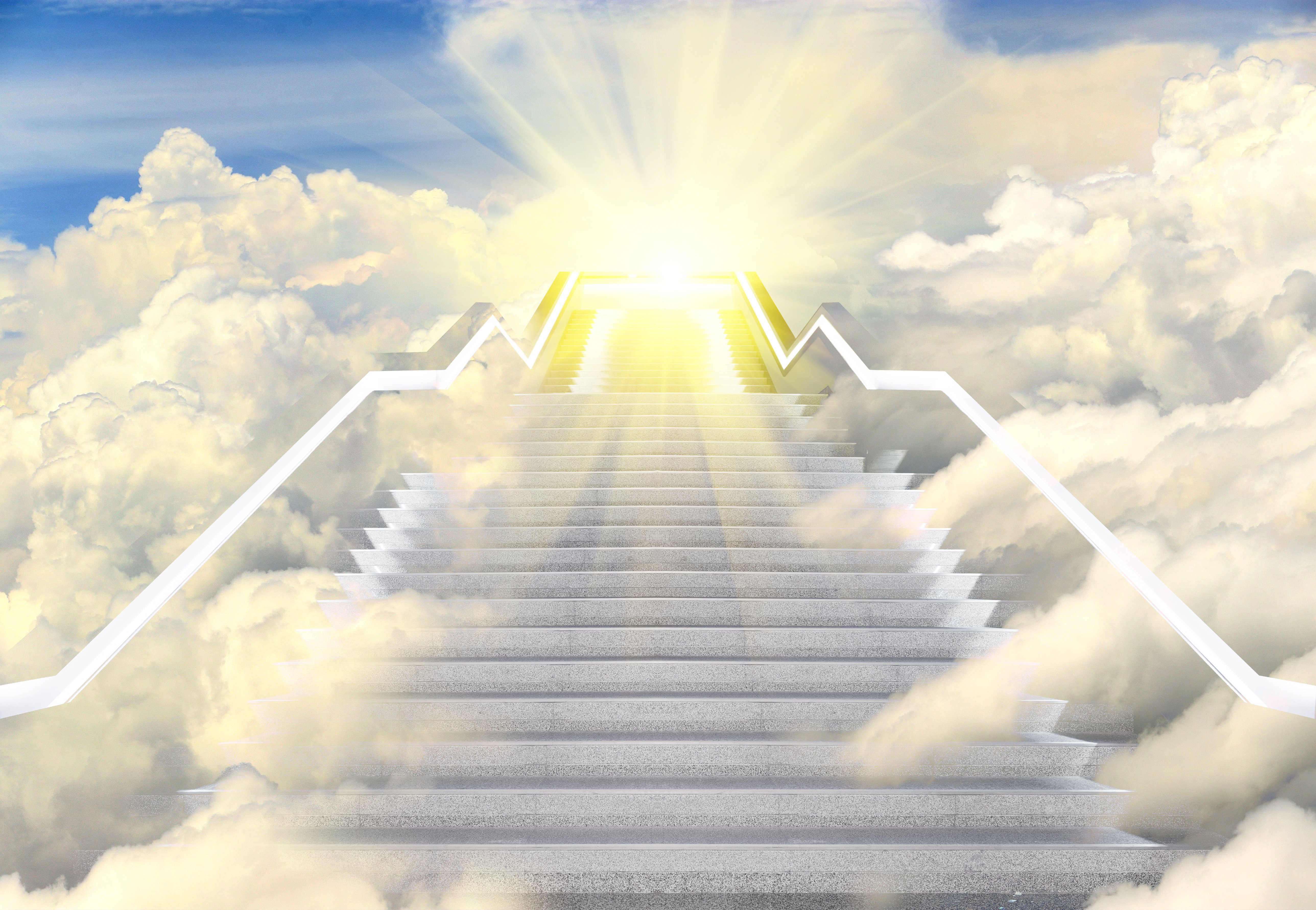 Heaven's gates and stairs   Photo: Shutterstock