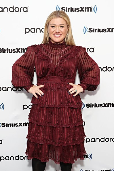 Kelly Clarkson at the SiriusXM Studios on September 9, 2019 in New York City. | Photo: Getty Images