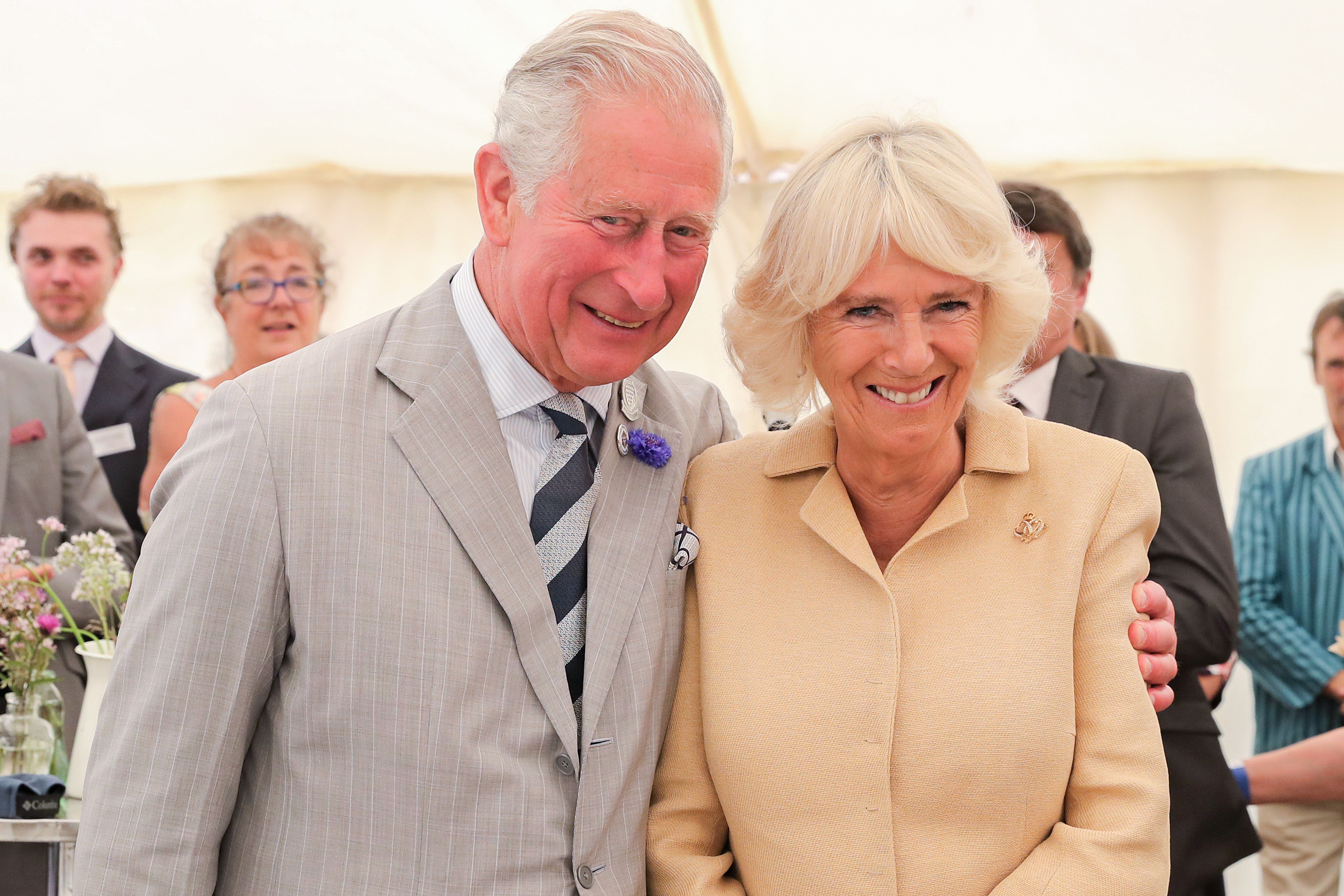 The Prince Of Wales & Duchess Of Cornwall Visit Devon & Cornwall on July 17, 2019 | Getty Images