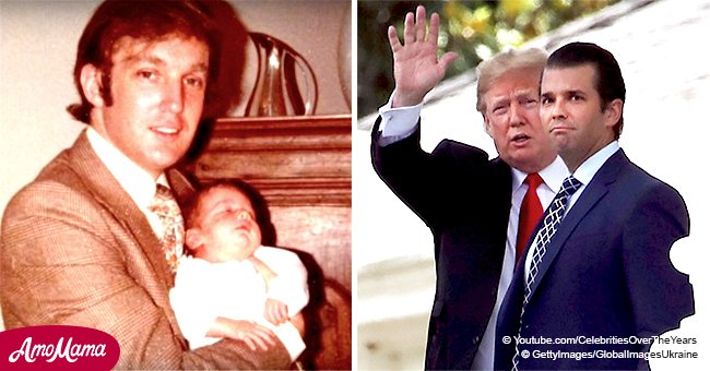 The highs and the lows of Donald Trump's relationship with his eldest son