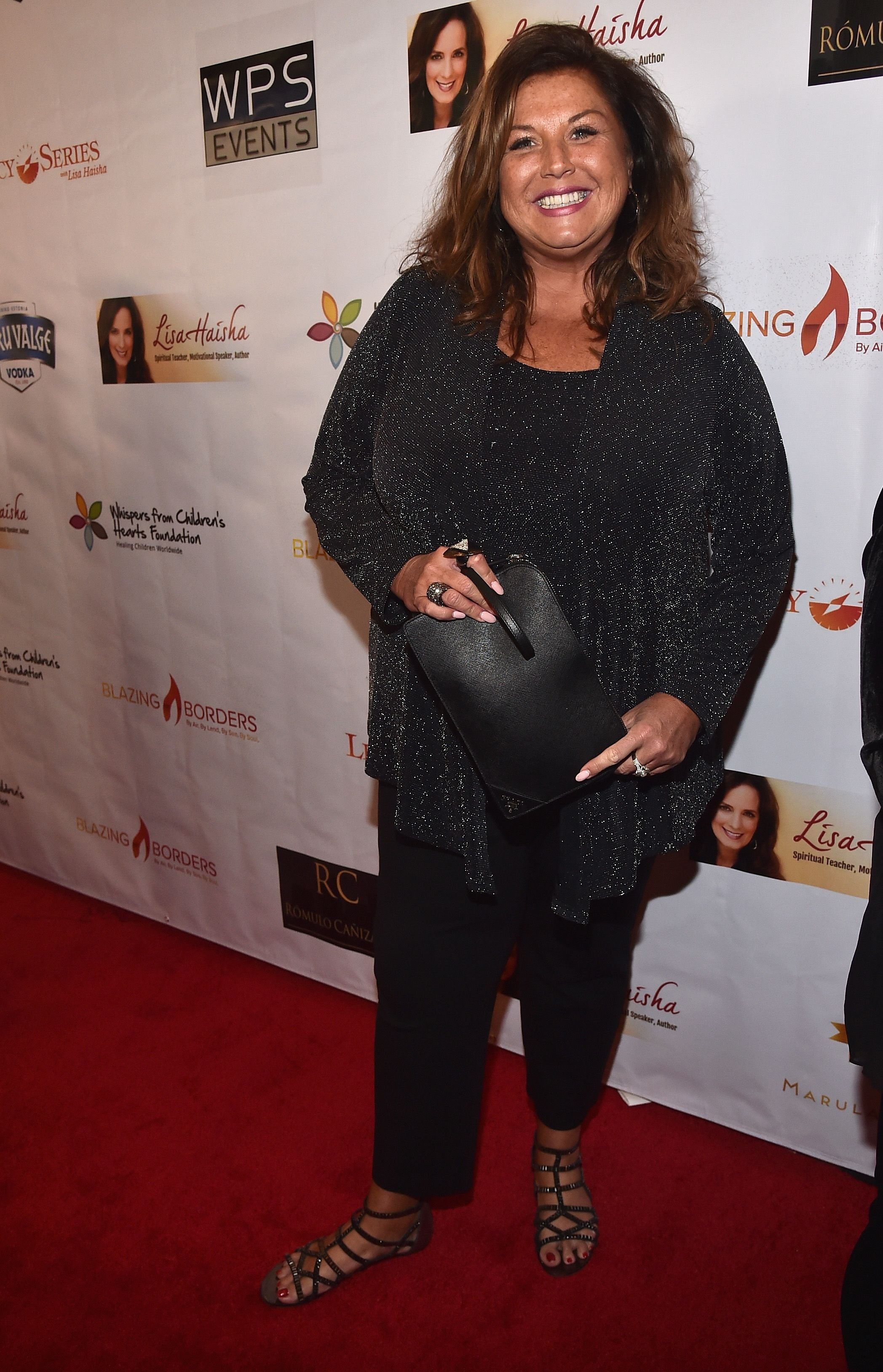 Abby Lee Miller at the 3rd Annual Whispers From Children's Hearts Foundation in 2017 in Santa Monica | Source: Getty Images