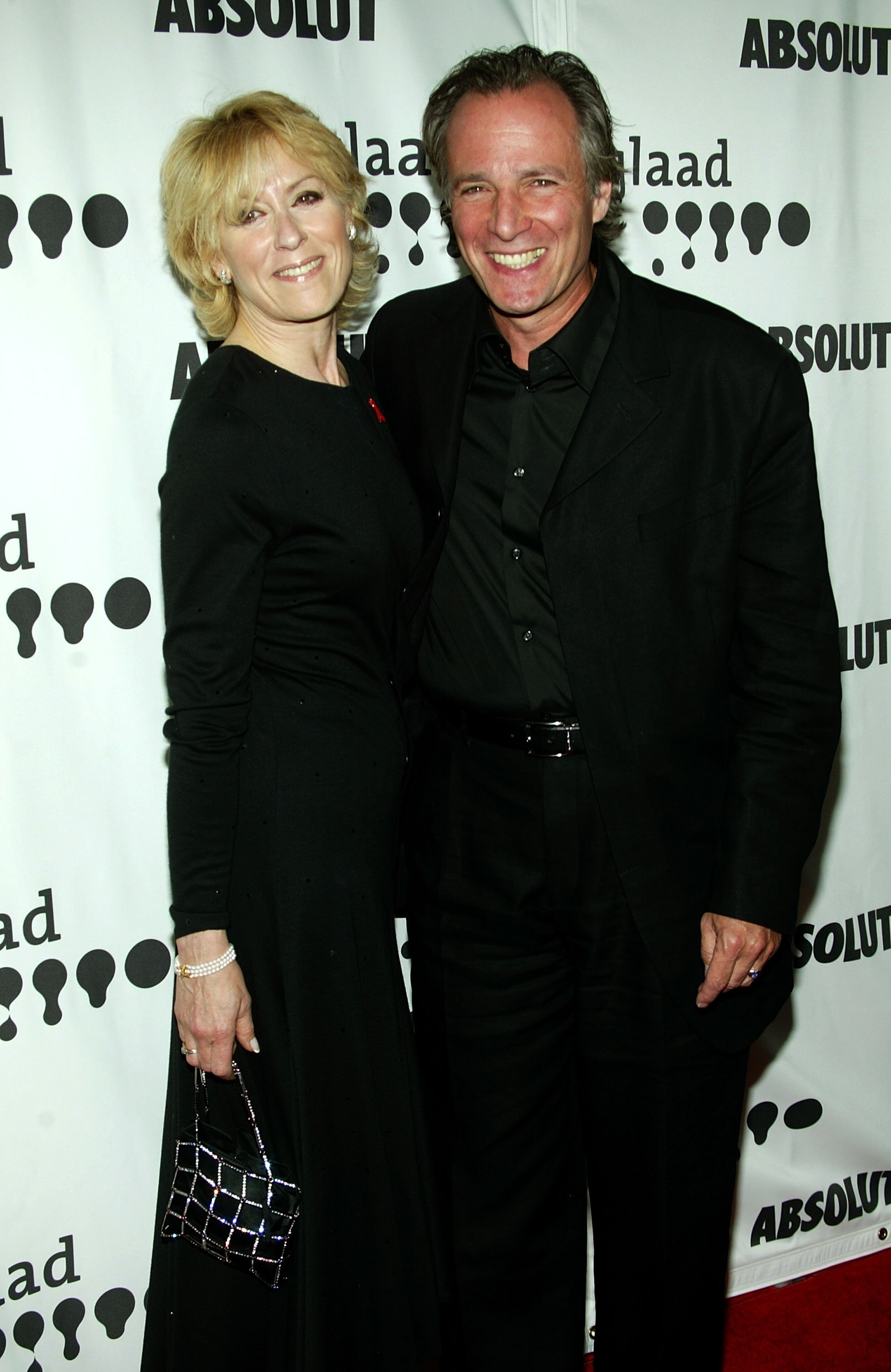 Judith Light and Robert Desiderio arrive at the 16th Annual GLAAD Media Awards at the Kodak Theater on April 30, 2005, in Hollywood, California.   Source: Getty Images.
