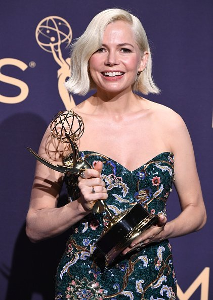 Michelle Williams at the 71st Emmy\ Awards on September 22, 2019 in Los Angeles | Photo: Getty Images