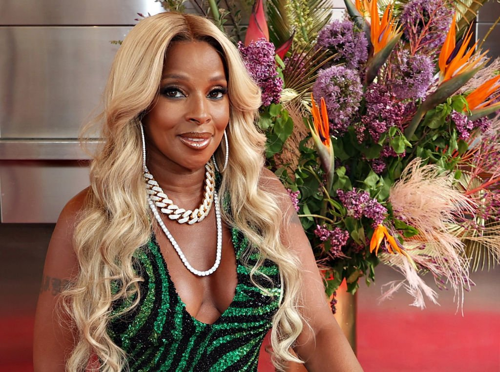 Mary J. Blige at The Apollo Theater, May 2021. | Source: Getty Images