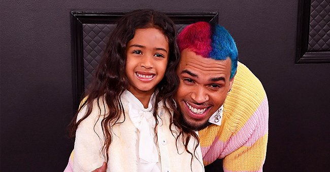 Chris Brown's Daughter Royalty Does 'Go Crazy' Dance Challenge in a Video