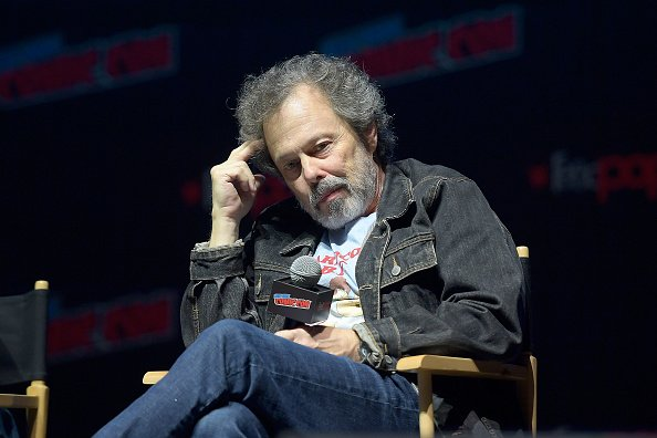 Curtis Armstrong speaks onstage at the American Dad! panel during 2018 New York Comic Con at on October 6, 2018, in New York City. | Source: Getty Images.