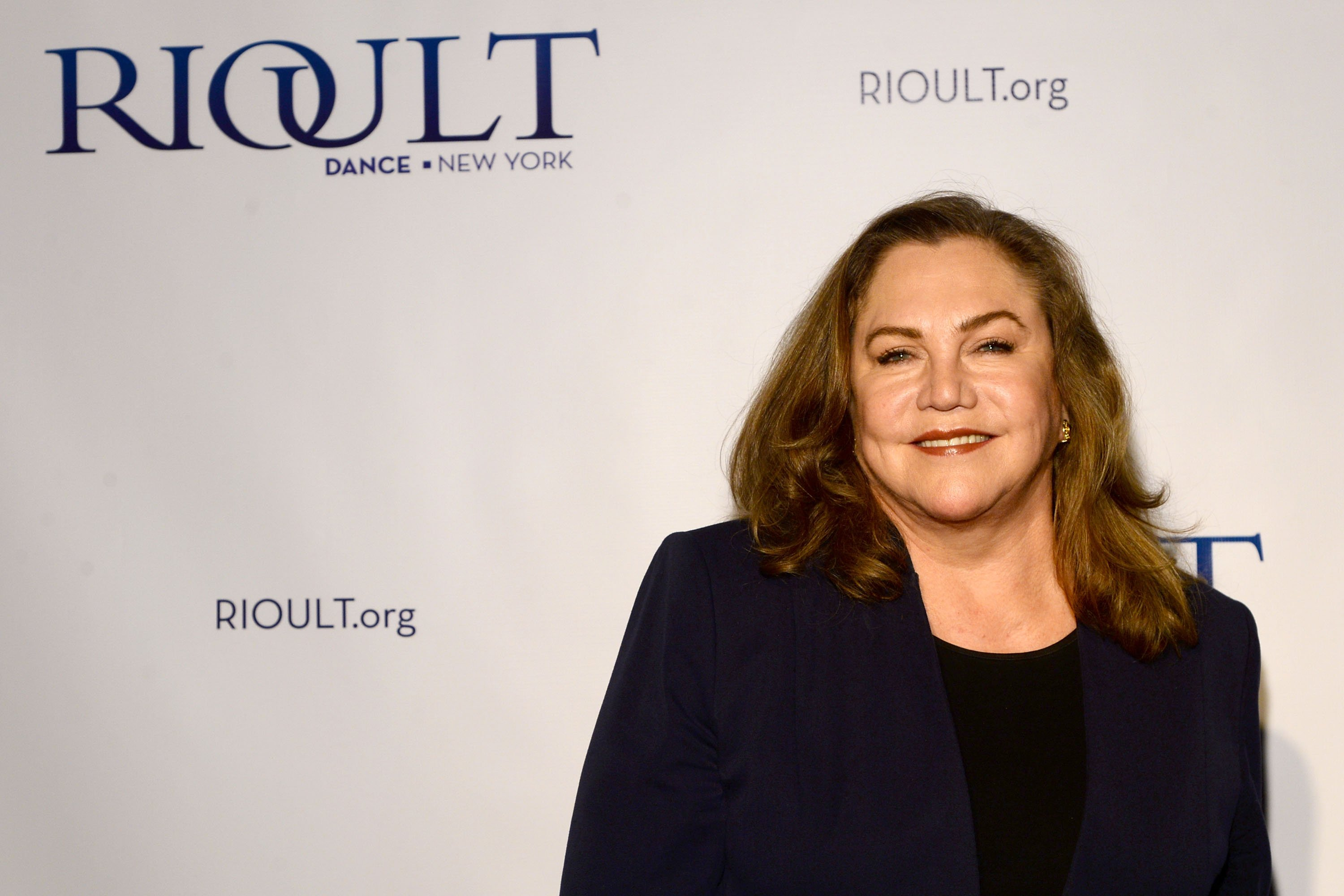 """Kathleen Turner attends the RIOULT Dance NY's World Premiere Of """"Street Singer - Celebrating The Life of Edith Piaf"""" on May 13, 2015, in New York City. 