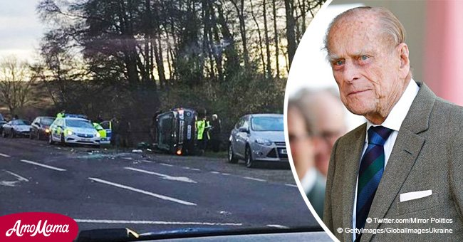 Famous actress rips into Prince Philip with horribly foul language after crash involving baby