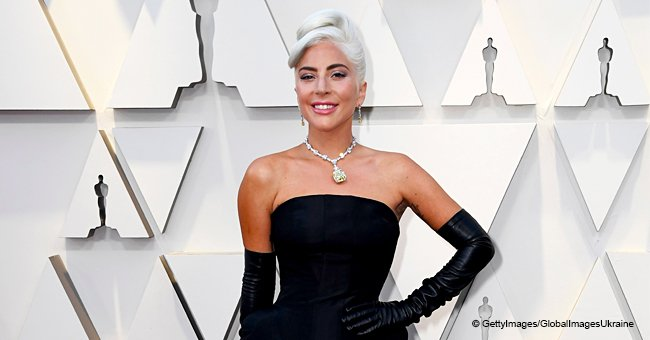 Lady Gaga Dazzles Fans with a Huge Lemon Diamond Rock around Her Neck at 2019 Oscars