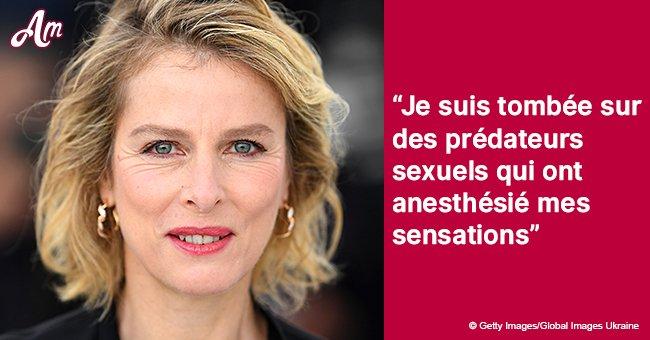 """Karine Viard a admit sa faiblesse: elle ne pouvait pas repousser les """"hommes abusifs"""""""