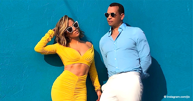 Jennifer Lopez and Alex Rodriguez Capture Hearts in 1st Couple Photoshoot after Engagement
