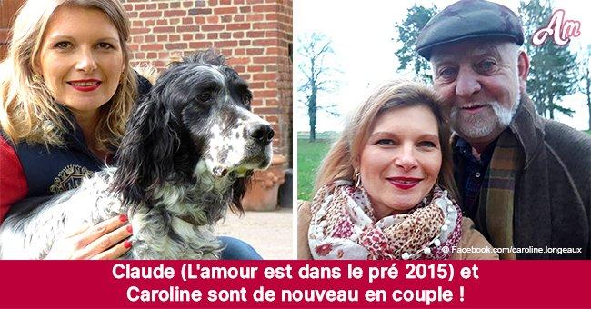 La rupture de Claude (L'amour est dans le pré) et Caroline : ils sont de nouveau ensemblee !