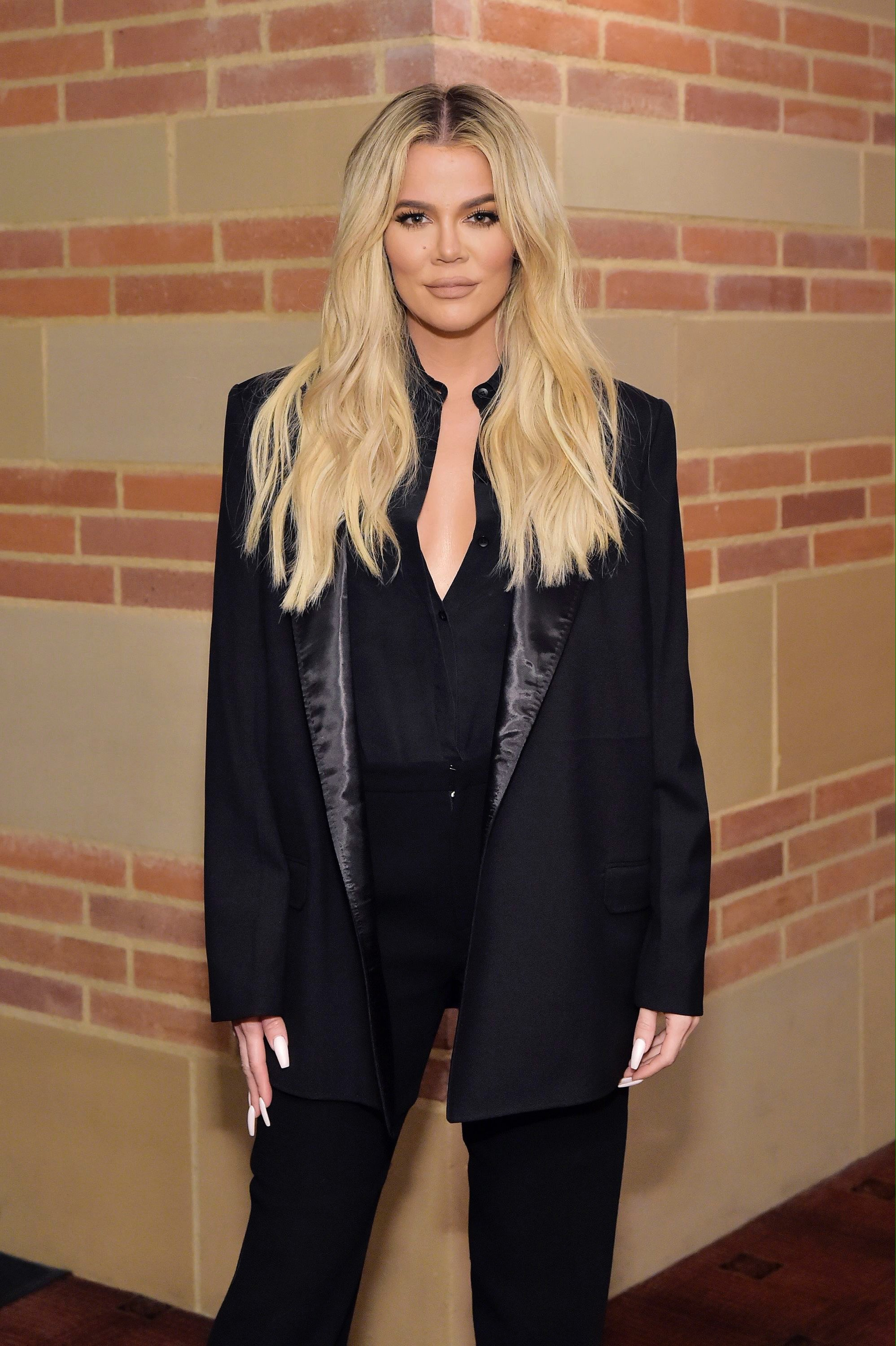 Khloe Kardashian attends The Promise Armenian Institute Event on November 19, 2019, in Los Angeles, California. | Source: Getty Images.