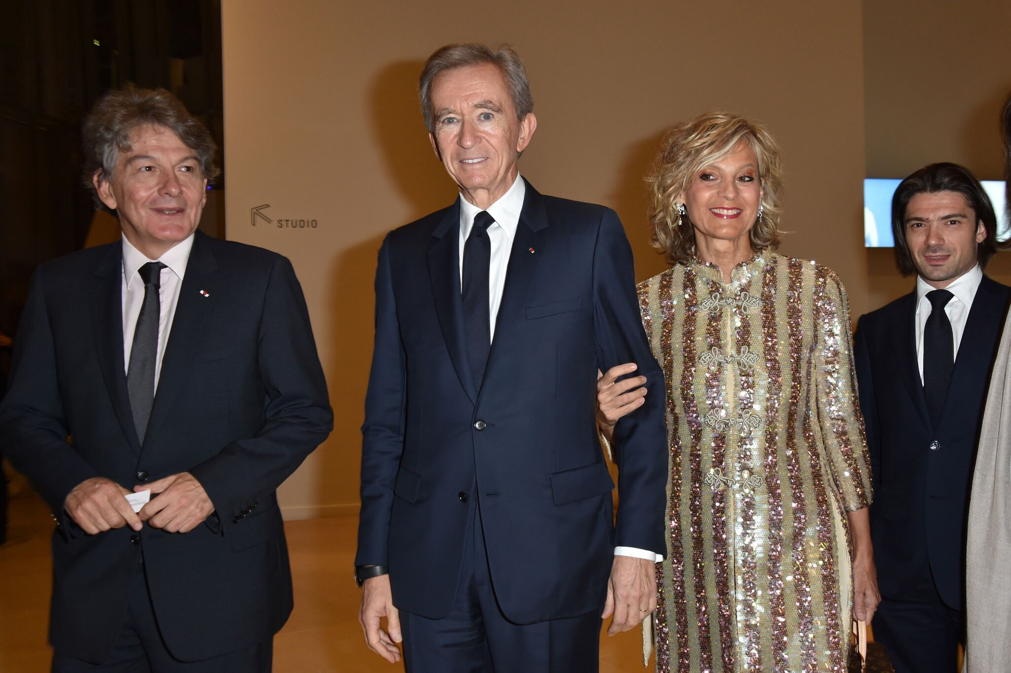 Bernard Arnault et sa femme Hélène. l Source: Getty Images