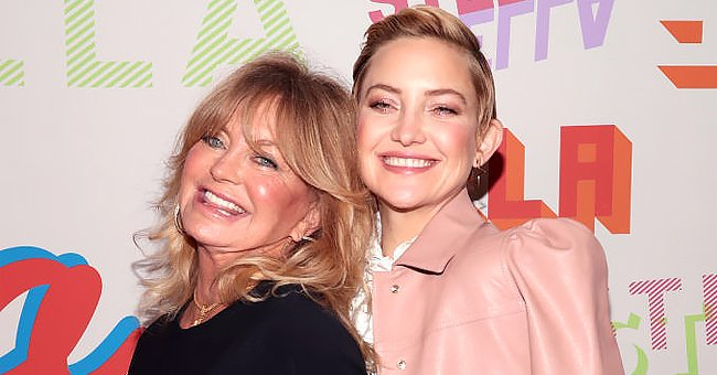 Kate Hudson and Mom Goldie Hawn Have a Good Time Reciting Each Other's Iconic Movie Lines