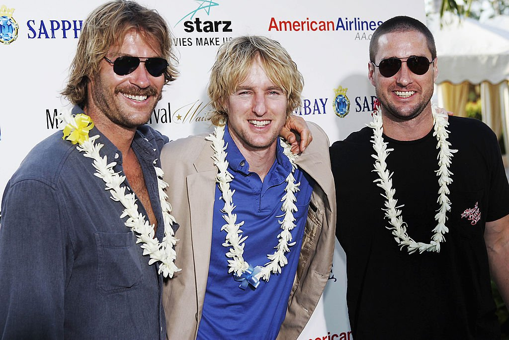 Brothers (L to R) Andrew, Owen and Luke Wilson attend A Tribute To The Wilson Brothers, part of the Maui Film Festival, at the Four Seasons Hotel June 16, 2005 | Photo: Getty Images