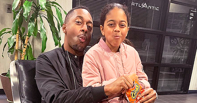 Jaleel White & Daughter Samaya Look so Alike as They Have 'Filter Fight' in Video