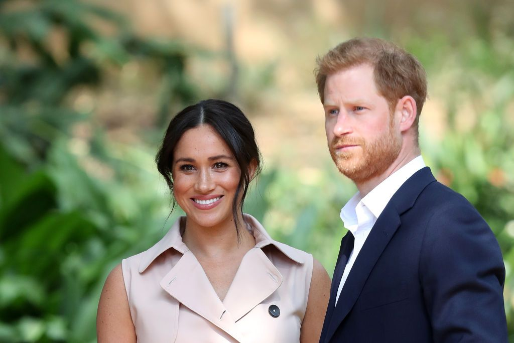 Prince Harry and Meghan Markle at a Creative Industries and Business Reception on October 02, 2019   Photo: Getty Images