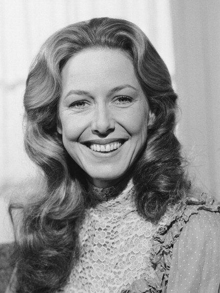"Karen Grassle dans le rôle de Caroline Ingalls dans ""Little House of the Prairie"" en 1979. I Image: Getty Images."