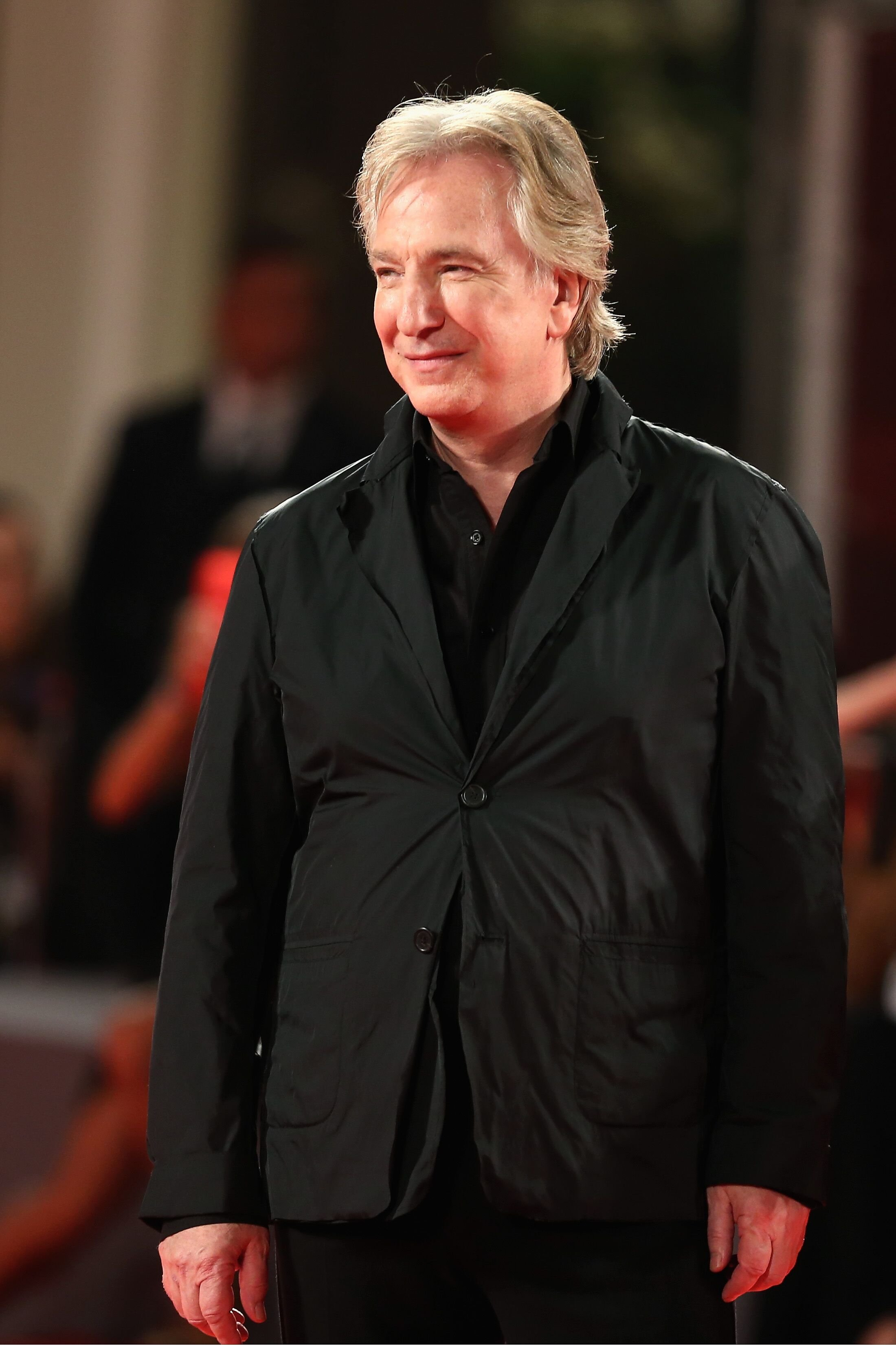 Alan Rickman attends the 'Une Promesse' Premiere. | Source: Getty Images
