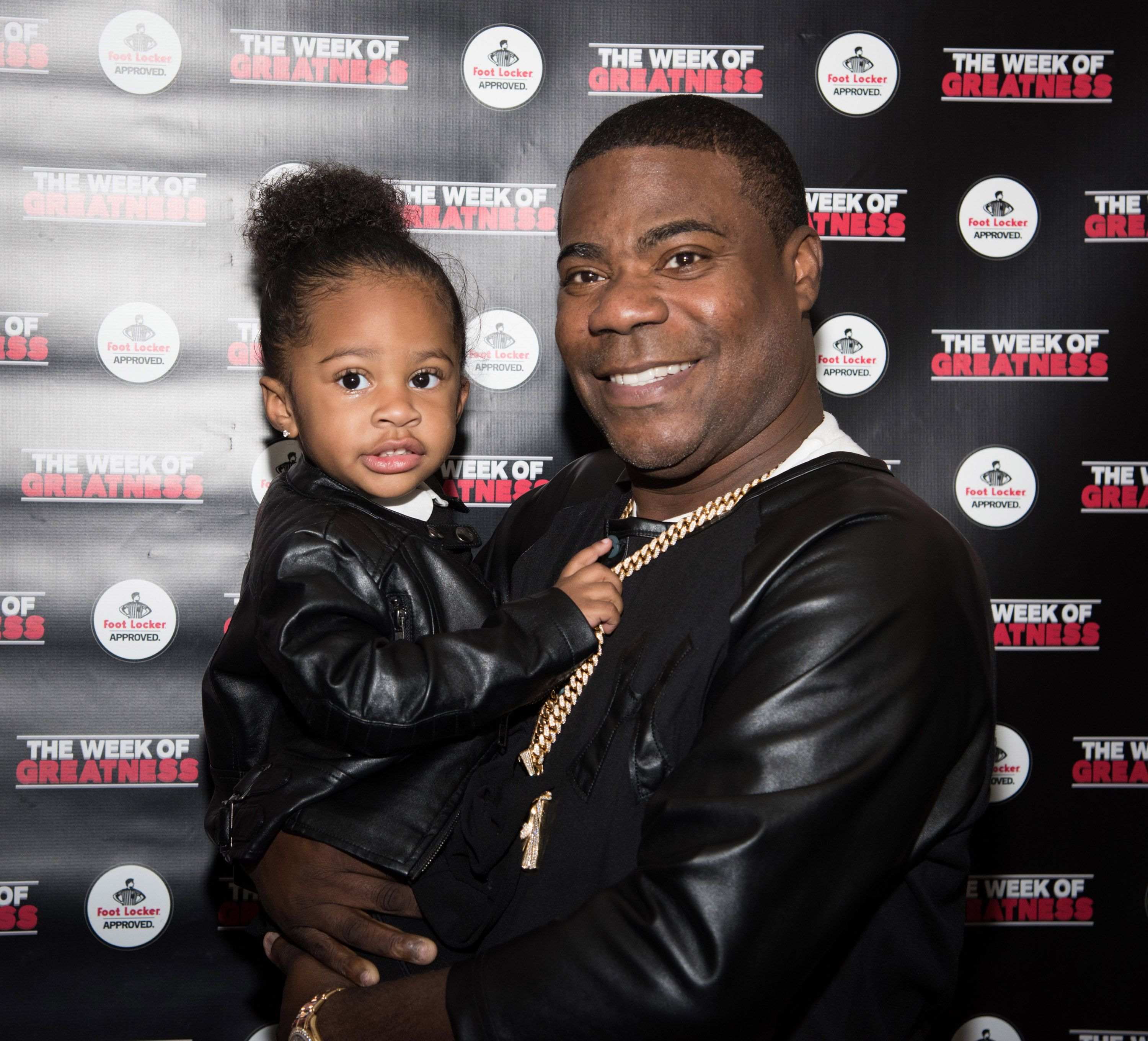 Tracy Morgan and daughter Maven at the Fourth Annual Week Of Greatness Kick Off Event in 2015 in New York City | Source: Getty Images