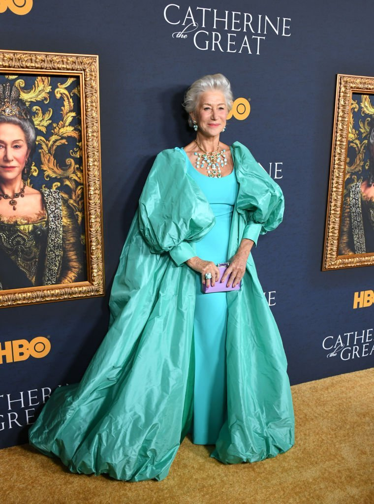 "Helen Mirren attends the Los Angeles Premiere Of The New HBO Limited Series ""Catherine The Great"" at The Billy Wilder Theater. 