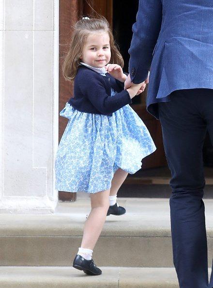Prinzessin Charlotte, Geburt von Prinz Louis, London, 2018 | Quelle: Getty Images