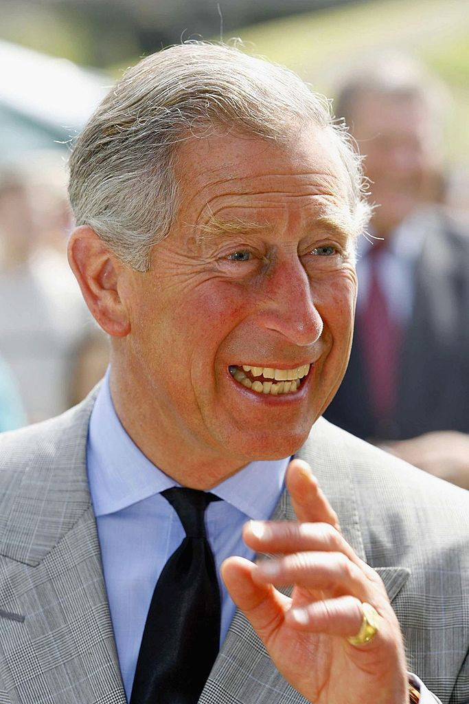 Prince Charles smiles during a visit to Showcase Launceston at Launceston Castle, June 14, 2006 in Launceston, England. | Source: Getty Images