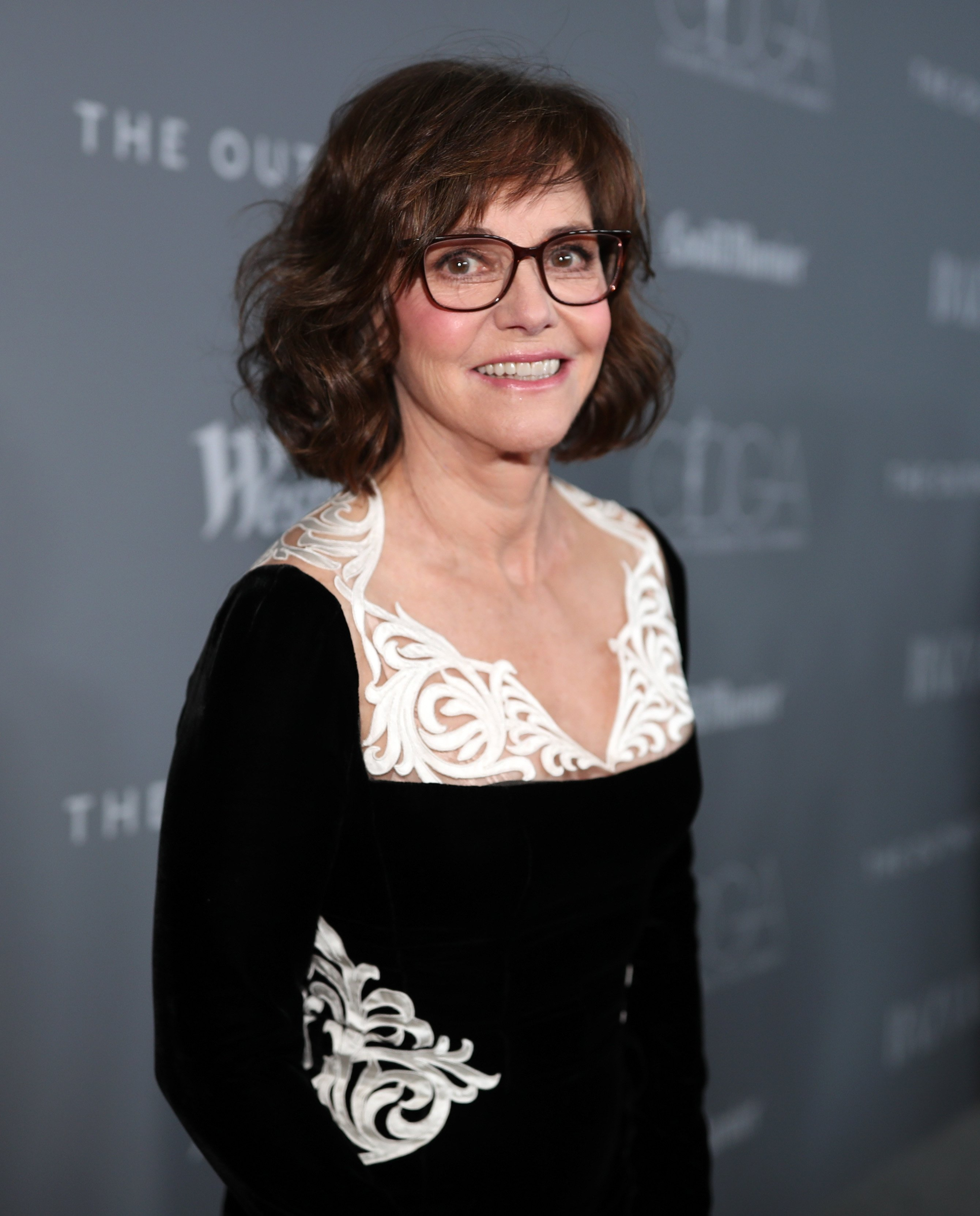 Sally Field attends the Costume Designers Guild Awards at The Beverly Hilton Hotel on February 20, 2018, in Beverly Hills, California. | Source: Getty Images.