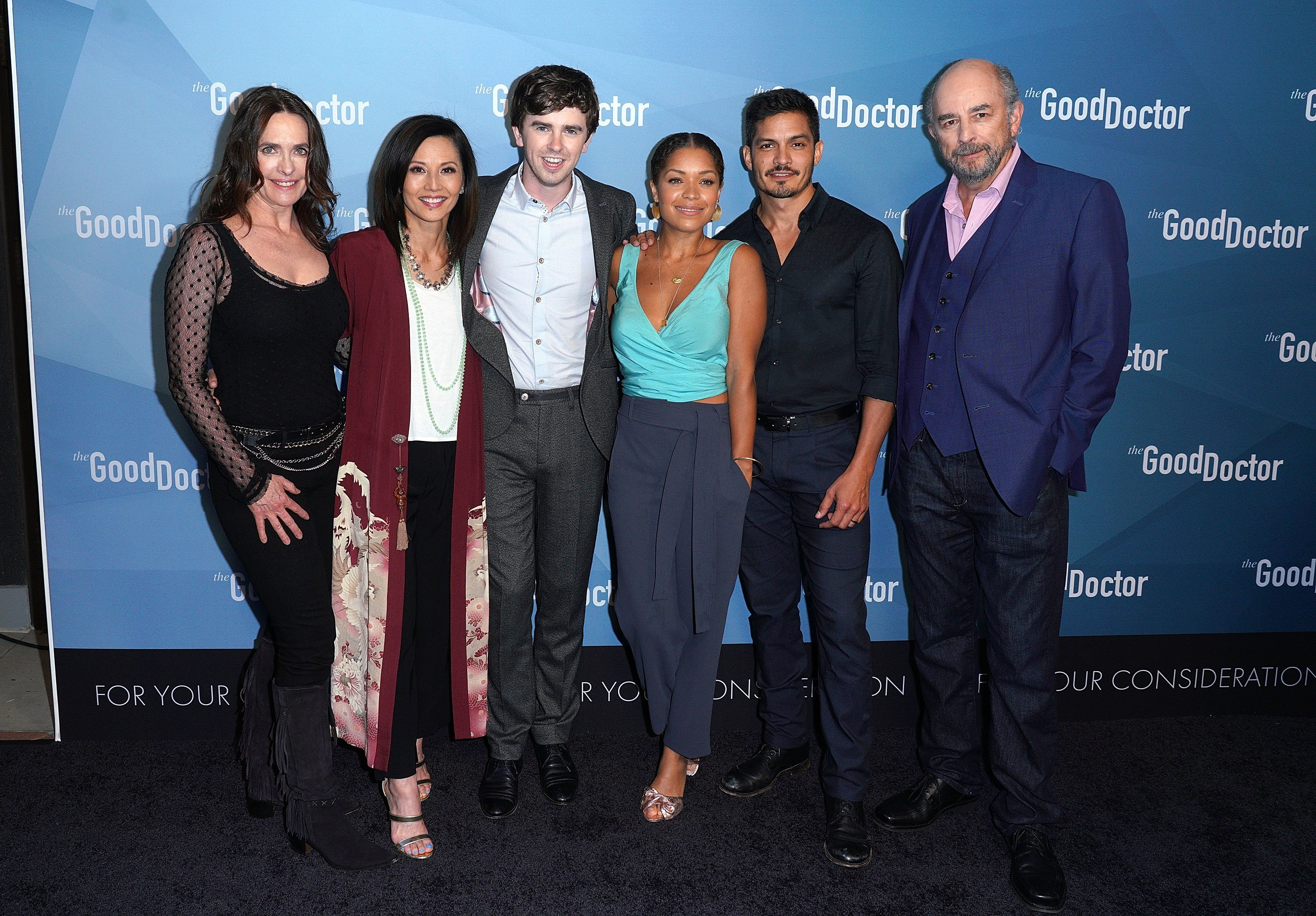 "The cast of ""The Good Doctor"" attends the For Your Consieration Event in Culver City, California on May 22, 2018 