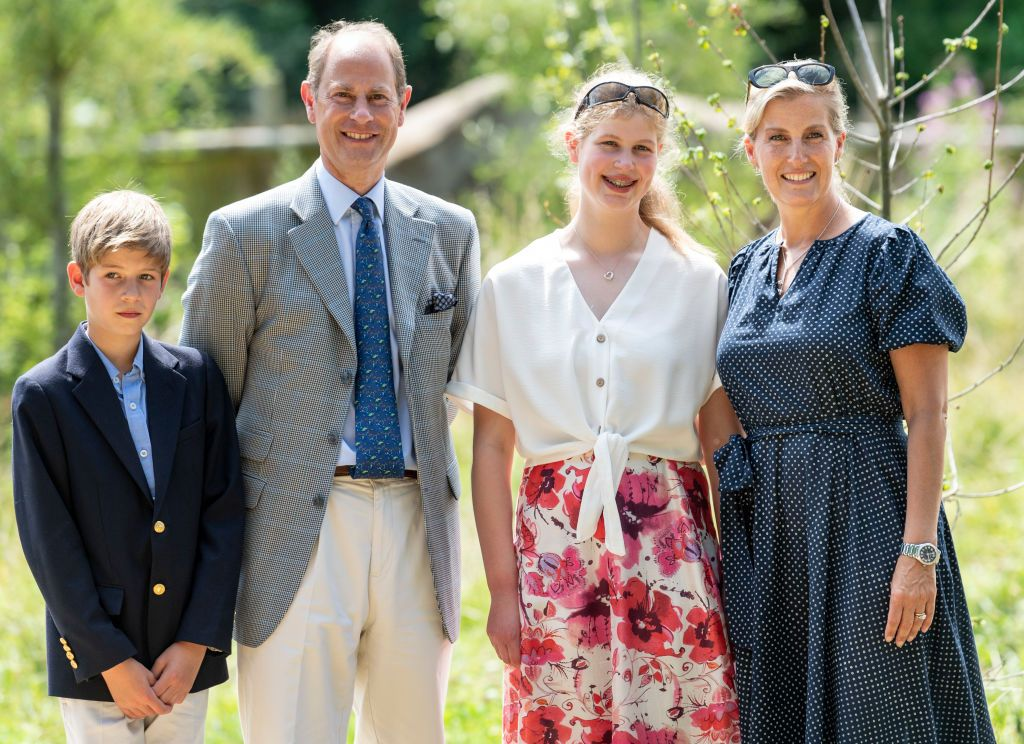 Prince Edward, Earl of Wessex and Sophie, Countess of Wessex with their kids at The Wild Place Project at Bristol Zoo on July 23, 2019 | Photo: Getty Images