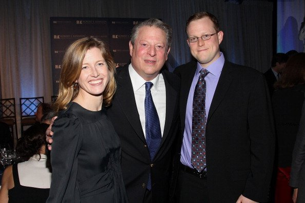 Al Gore and his daughter Karenna Gore Schiff and son Albert A. Gore III at Pier Sixty at Chelsea Piers on December 5, 2011 in New York City   Photo: Getty Images