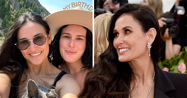 Demi Moore Celebrates Daughter Rumer Willis' 32nd Birthday in a Sweet Post