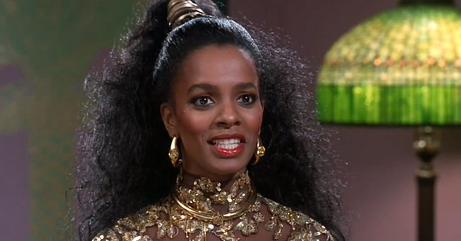 """Vanessa Bell Calloway as  Princess Imani Izzi in """"Coming to America,"""" 1988 