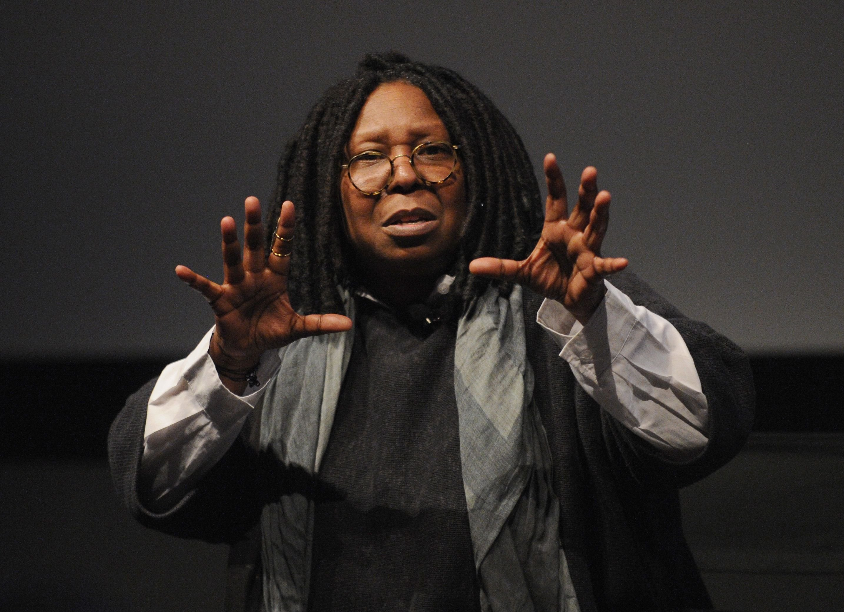 """Whoopi Goldberg at the """"I Got Somethin' To Tell You"""" screening and Q+A at SVA Theatre 1 on April 22, 2013   Photo: Getty Images"""