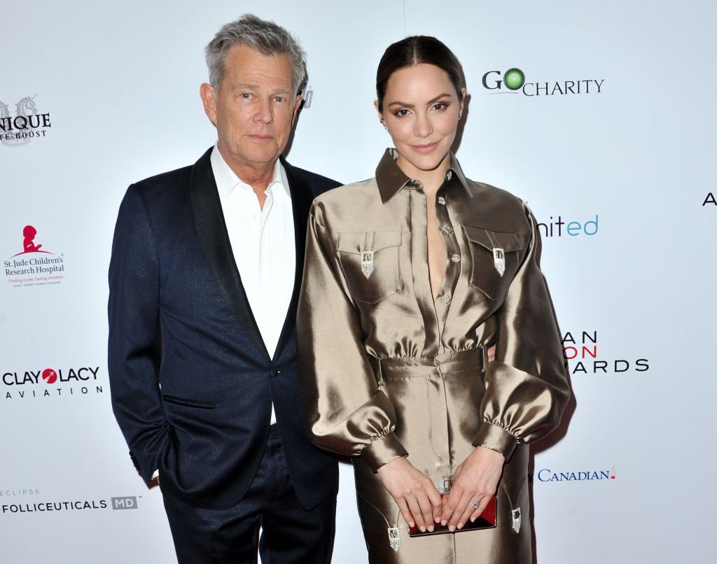 David Foster and Katharine McPhee attend the American Icon Awards at the Beverly Wilshire Four Seasons Hotel. | Photo: Getty Images