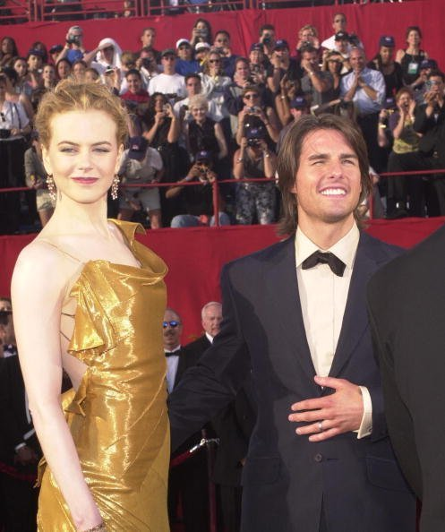 Tom Cruise and Nicole Kidman at the 72nd Annual Academy Awards March 26, 2000 in Los Angeles, CA | Photo: Getty Images