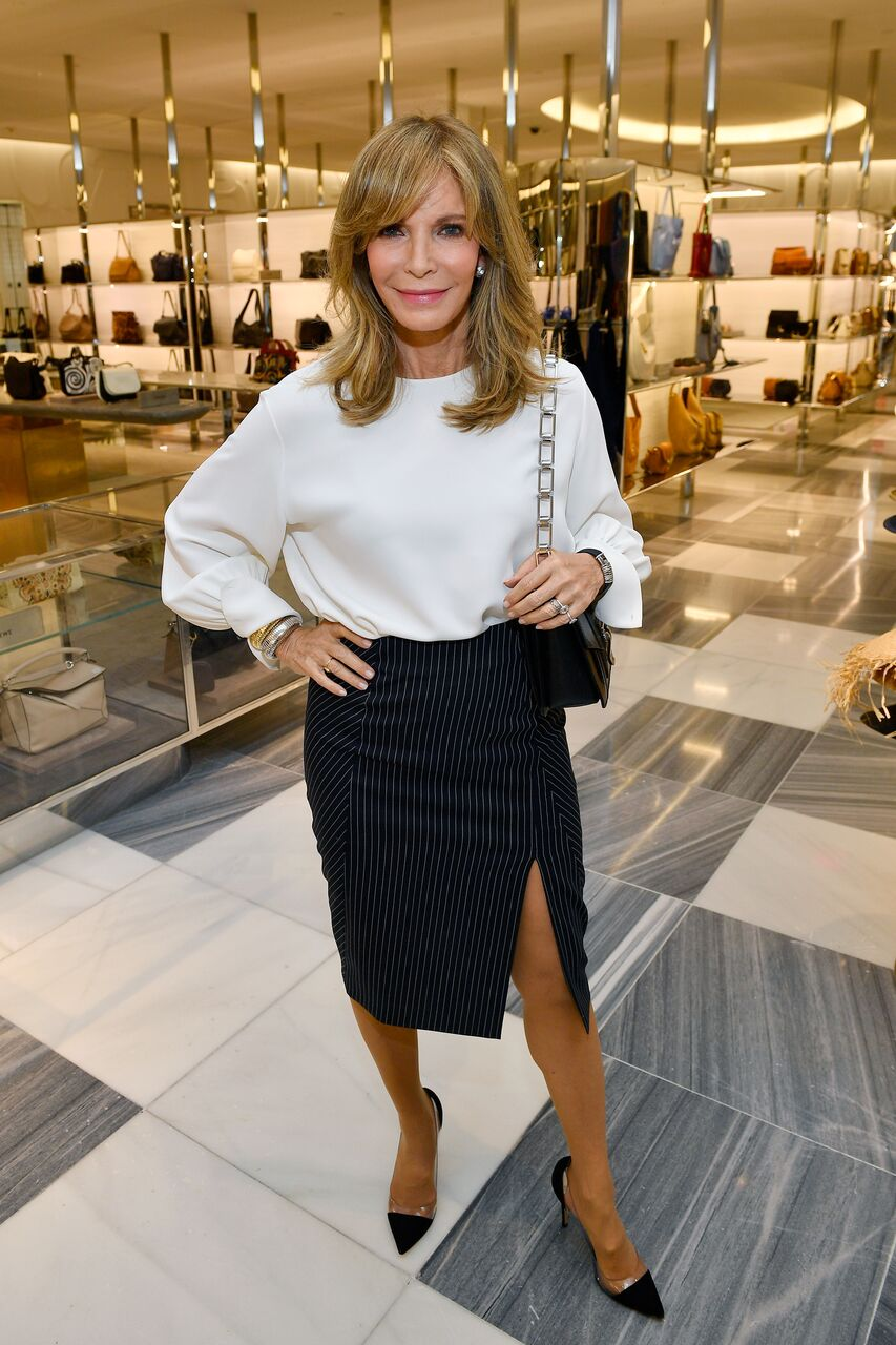 Jaclyn Smith attends Barneys New York Celebration of the Farrah Fawcett Foundation at Barneys New York Beverly Hills on May 11, 2017 in Beverly Hills, California. | Source: Getty Images