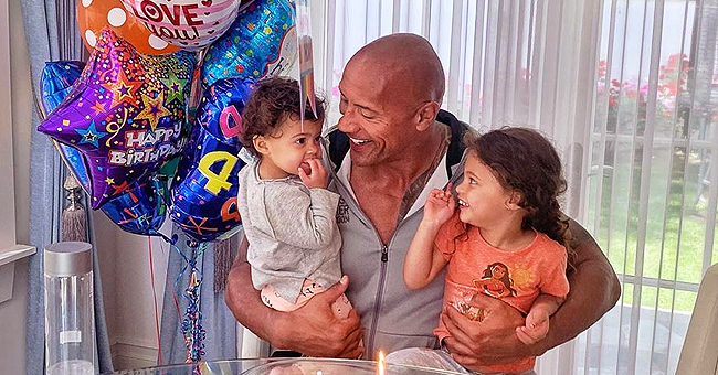 Dwayne Johnson Deletes Photo of Daughter at a Pool after Criticism